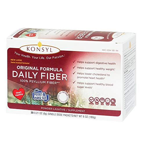 Konsyl Original 30 Single Dose Packets 3 Pack ()