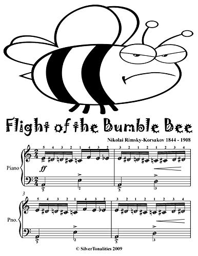 Flight of the Bumble Bee Easy Piano Sheet Music Tadpole Edition (Flight Of The Bumblebee Piano Sheet Music Easy)