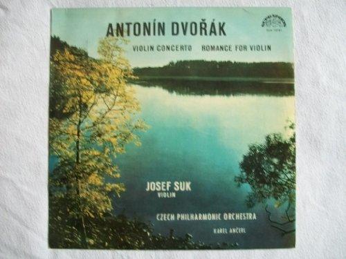 Antonin Dvorak - Violin Concerto / Romance For Violin