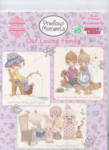 Precious Moments Our Loving Family Cross Stitch 13 Designs