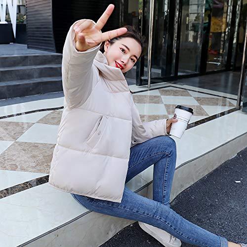 Blanc Veste D'hiver Femmes Avec Matelassée Hiver Noire Gris Femme Rose Pour Capuche Blanche Jaune dOtwtqYx