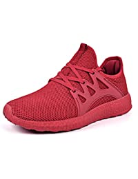 Womens Sneakers Ultra Lightweight Breathable Mesh Sport Gym Walking Shoes