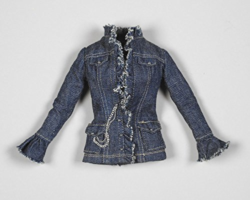 T10BQOF05 Frayed Denim Jacket OUTFIT 2010 Tyler Wentworth TONNER Ready-To-Wear Boutique Collection