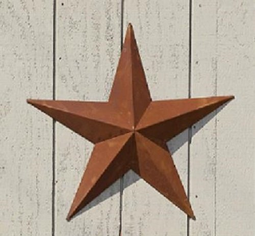 oot) Amish Tin Barn Star,Handcrafted Out of Heavy-duty 22 Gauge Steel Metal. Wings of the Star Are Individually Cut and Bent By the Old Order Amish Craftsmen and Then Holes Are Punched in the Flange of Each Wing. This Size Star Is Shipped Unassembled for Economical Shipping. Assembly Is Easy. Due to high demand, these are a little bit back ordered, but might ship before designated ship date. (Amish Tin Barn)