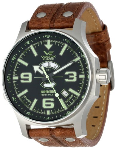 Vostok-Europe Men's 2432/5955193 Russian Movement Watch