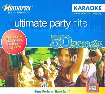 CD+Graphics Karaoke - Ultimate Party Hits