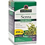 Nature's Answer Senna Leaf - Natural Herbal Laxative - Gluten Free - 90 Vegetarian Capsules