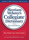 Merriam-Webster's Collegiate Dictionary, Merriam-Webster, 0877798079