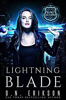 Lightning Blade (The Ruby Callaway Trilogy Book 1) by [Erikson, D.N.]