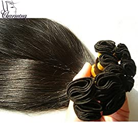 Malaysian Straight Hand Tied Virgin Human Hair Shedding Free And Tangle Free Hand Tied Weft Human Hair Extensions