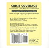Crisis Coverage CD-ROM : Interactive Journalism Simulation, Missouri Group Staff, 0312416997