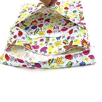 LAAT Baby Kleinkind wasserdichtem Rei/ßverschluss Wiederverwendbare Baby Windel Aufbewahrungstasche tragbare Windel-Aufbewahrungstasche wiederverwendbarer
