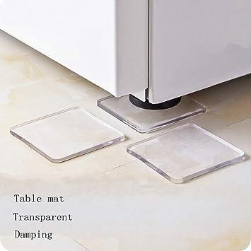 4 almohadillas a prueba de golpes, lavadora, nevera, mesa, armario ...