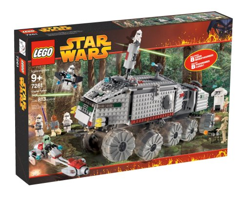 LEGO Star Wars Clone Turbo Tank (Lego Star Wars Clone Turbo Tank Set 8098)