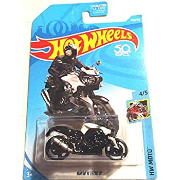 Hot Wheels 2018 HW Moto BMW K 1300 R (Motorcycle) 356/365, White
