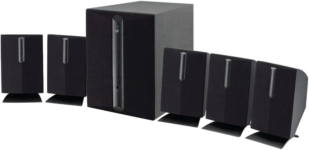 GPX(R HT050B 5.1-Channel Home Theater Speaker System