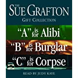 """Sue Grafton ABC Gift Collection: """"A"""" Is for Alibi, """"B"""" Is for Burglar, """"C"""" Is for Corpse"""