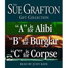 "Sue Grafton ABC Gift Collection: ""A"" Is for Alibi, ""B"" Is for Burglar, ""C"" Is for Corpse"