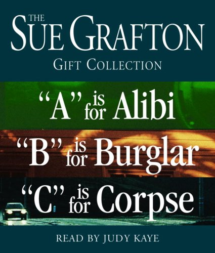 "Sue Grafton ABC Gift Collection: ""A"" Is for Alibi, ""B"" Is for Burglar, ""C"" Is for Corpse (A Kinsey Millhone Novel)"