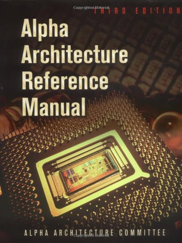 Alpha Architecture Reference Manual (HP Technologies)