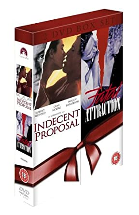 Fatal Attraction Indecent Proposal Double Pack Dvd Amazon