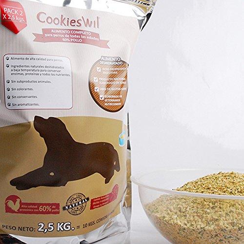 Alimento para perros 60% pollo