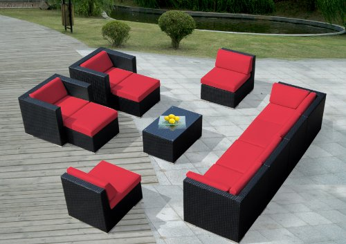 ohana-11-piece-outdoor-wicker-patio-furniture-sectional-conversation-set-with-weather-resistant-cush
