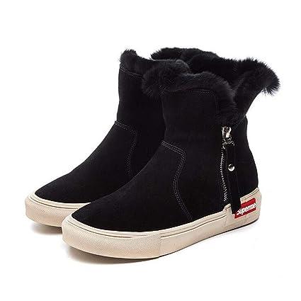 2b187ee3d34f4 Amazon.com: Hy Women's Booties, Fall/Winter Comfort Martins Boots ...