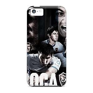 Perfect Fit SdN22797GnjU Boca Juniors Sport Cases For Iphone - 5c Black Friday
