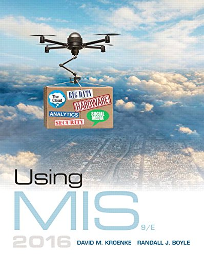 Using MIS (9th Edition)