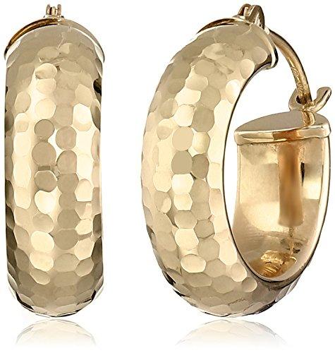14k-yellow-gold-diamond-cut-hoop-earrings