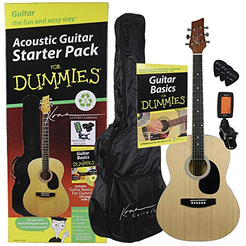 (Guitar For Dummies Acoustic Guitar Starter Pack (Guitar, Book, Audio CD, Gig Bag) )