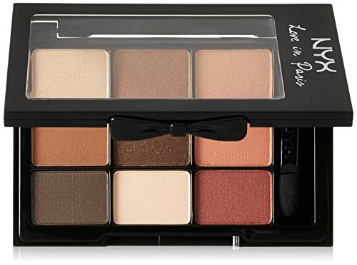NYX Professional Makeup Love in Paris Eyeshadow Palette, Mer