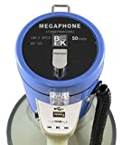 Blast King 72BER66SWU Deluxe Megaphone 50-Watt with USB