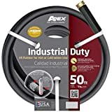 Teknor Apex 8650-50 5/8'' x 50' Industrial Duty Water Hose, Black