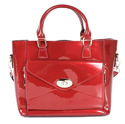 Rosso Donna Borsa Medium Mano Rose A Sienna 4qSw7