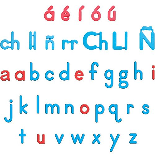 (Really Good Stuff Spanish Plastic Magnetic Letters)