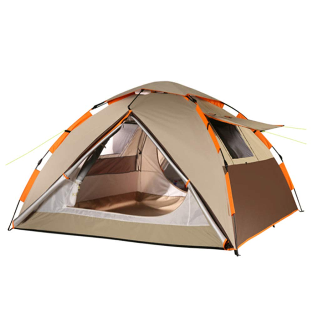 Tent De Camping, Familiale, Tissu Oxford, Conception ImperméAble, Facile à Transporter, Confortable Et VentiléE Mocha marron -