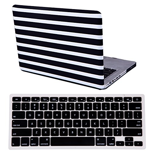 HDE MacBook Keyboard Protective Striped