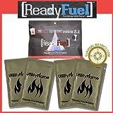 ReadyFuel Gel-Based Fire Starter 4 Pack - 30+ Year Shelf Life!