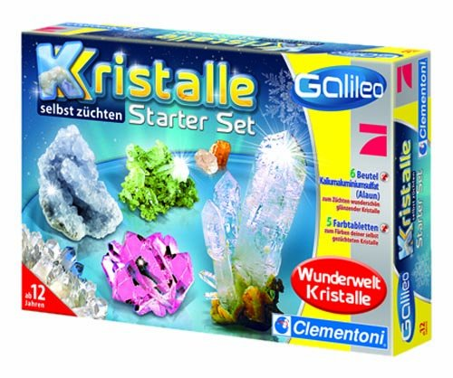 Clementoni 69517 Galileo: Grow your own Crystals!!