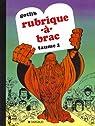 Rubrique-à-brac, tome 2 par Gotlib