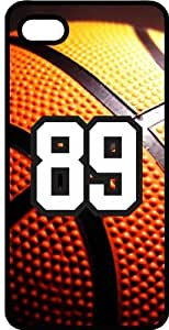 Basketball Sports Fan Player Number 89 Black Rubber Decorative iphone 6 4.7 Case