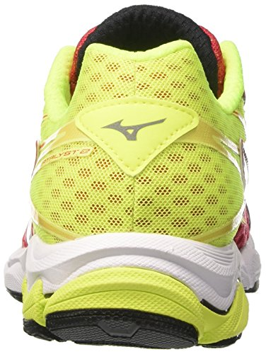 De Blanc Course Wave Catalyst Safetyyellow Multicolore Chaussures Hommes Mizuno Pour lollipop 7wqn6pd