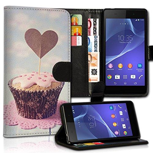 Wallet Book Style Flip Handy Tasche Case Schutz Hülle Schale Motiv Etui für Apple iPhone 6 Plus / 6S Plus - Design Flip MVD166