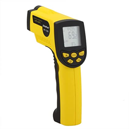 KKmoon HP-1300 16:1 Infrarrojo Ir Sin Contacto Termómetro Láser Temperatura Pistola Sensor
