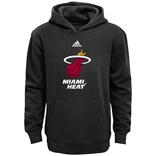 NBA Miami Heat Boys 8-20 Primary Logo Fleece Hoodie, Black, Medium (Miami Heat Hoodie Youth compare prices)
