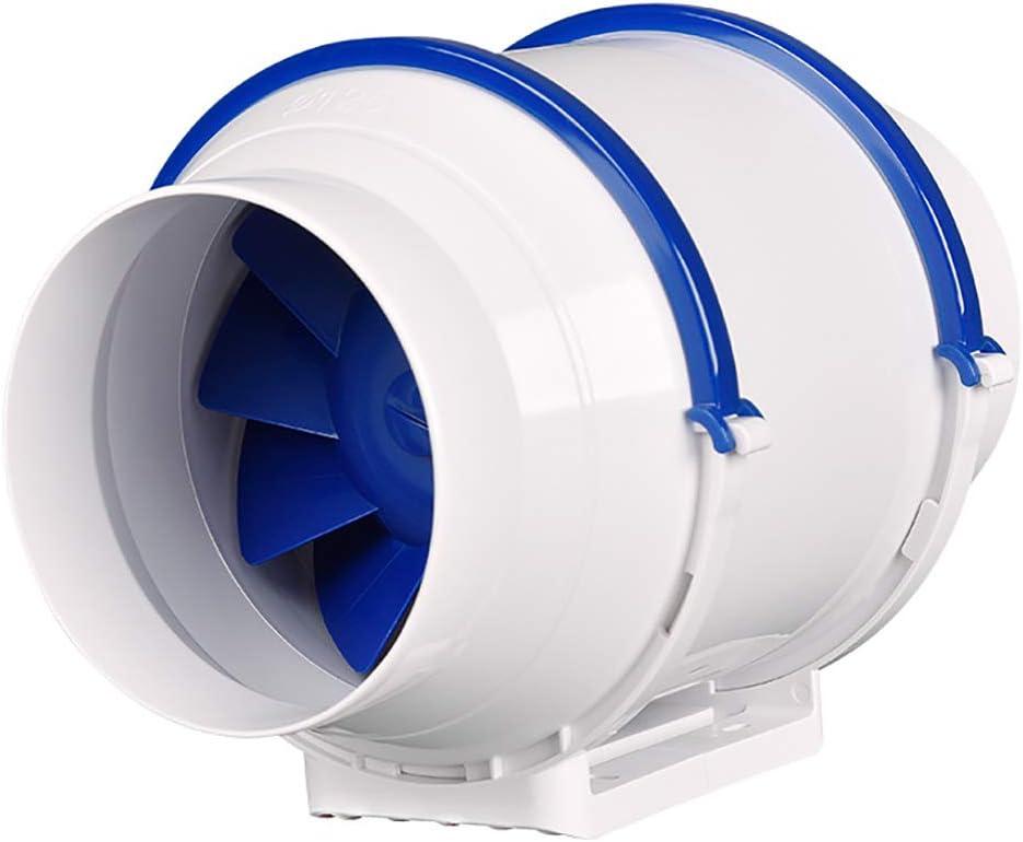 BCXGS Extractor De Aire Redondo, Ventilador Extractor por Conductos, Ultra Silencioso Y Alto Volumen De Aire, para La Eliminación Rápida De Hollín Y Humedad