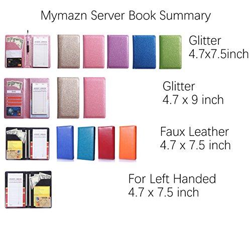 Mymazn Server Book Waitress Waiter for Left Handed Lefty