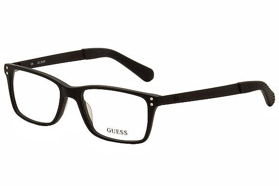 65c366dba8 GUESS Eyeglasses GU1869 002 Matte Black 53MM at Amazon Men s ...